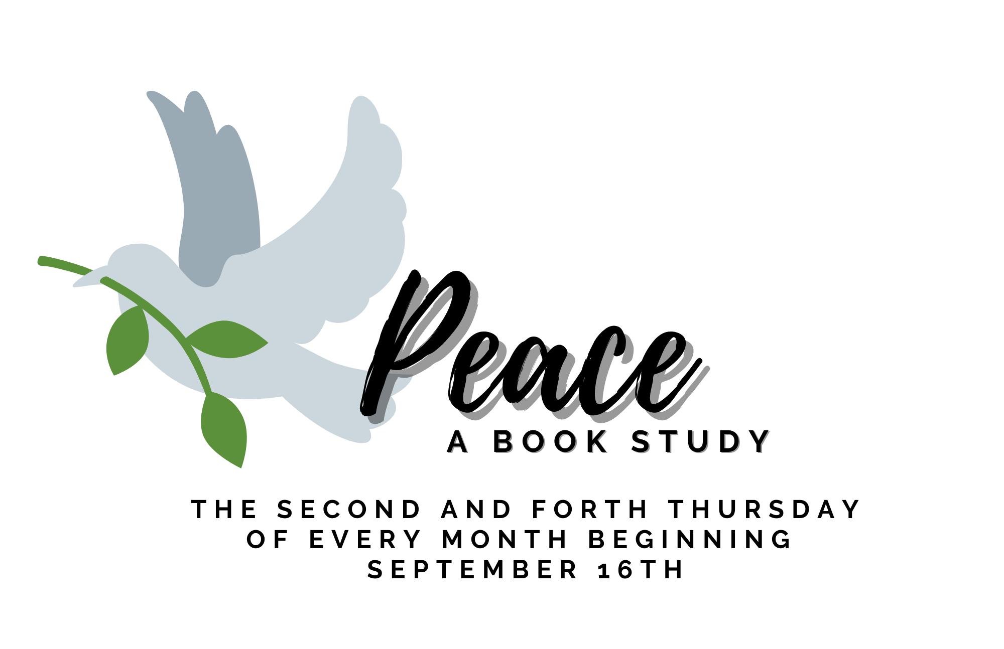 peace a book study